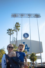 Coops 1st Dodger Game (1 of 14)