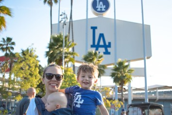Coops 1st Dodger Game (2 of 14)