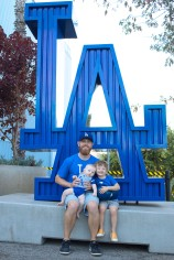 Coops 1st Dodger Game (3 of 14)