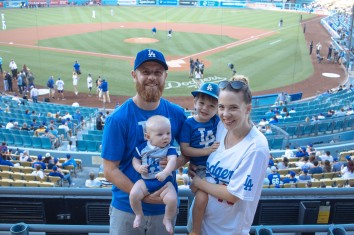 Coops 1st Dodger Game (4 of 14)