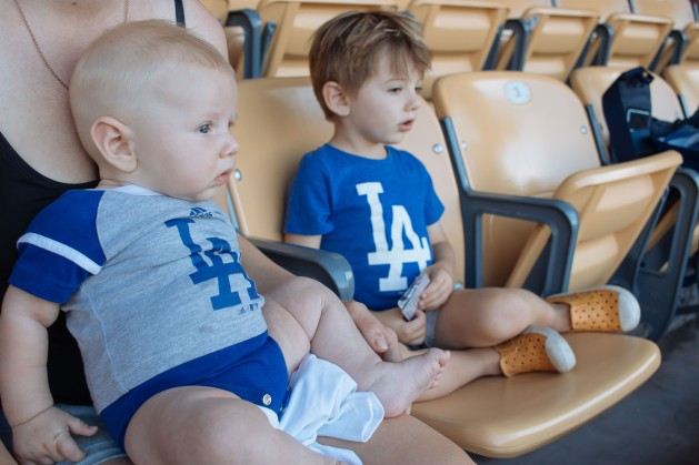 Coops 1st Dodger Game (7 of 14)